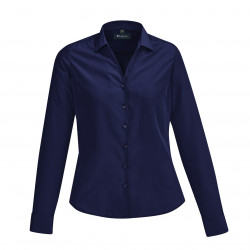 Biz Corporate Solanda Ladies Plain Long Sleeve Shirt