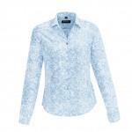 Boulevard Solanda Womens Print Long Sleeve Shirt