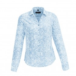 Boulevard Solanda Print Long Sleeve Ladies Shirt