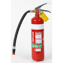 Chubb 2.3kg ABE Dry Powder Fire Extinguisher w/ Metal Bracket