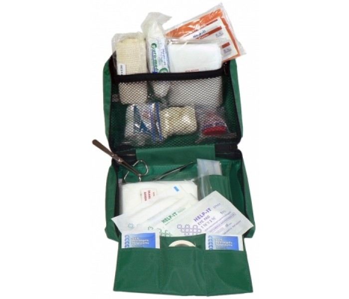 Road Materials Workgear Vehicle/Lone Worker 1 Soft Pack First Aid Kit