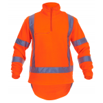 Caution 1/2 Zip TTMC-W Fleece Top-Fluro Orange