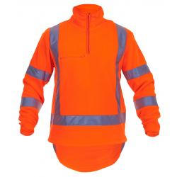 Caution TTMC-W 1/2 Zip Fleece Top