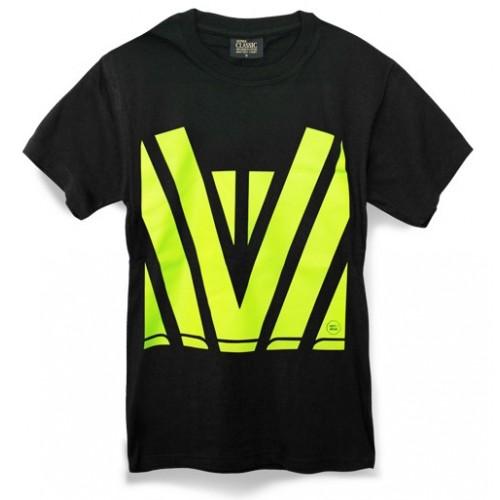 Novelli Hi Vis Fluro Print T Shirt