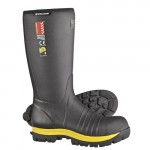 Skellerup Quatro Safety Gumboot : Knee High