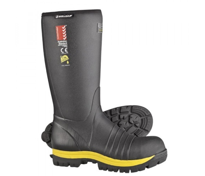 Skellerup Quatro Knee Safety Gumboot