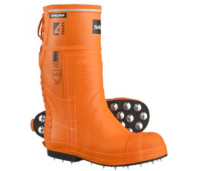Schoen Forestry Pro Spiked Safety Gumboots