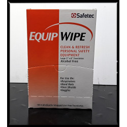 Safetec Equip PPE Cleaning Wipes-Box 100