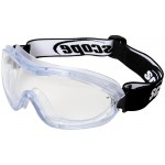 Scope Fusion Safety Goggles-Clear Lens