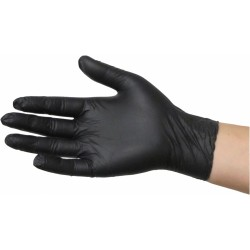 Lynn River Black Grizzly Nitrile Disposable Gloves-50pr Box