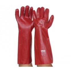 PRO PVC Single Dip Gauntlet Gloves