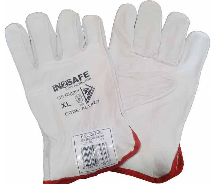 In2safe G9 Leather Riggers Glove