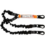 LINQ Double Elastic Lanyard with 3xSnap Hooks