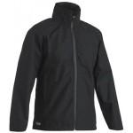 Bisley Ripstop Black Waterproof Jacket