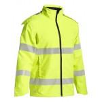 Bisley Ripstop Day/Night Fluro Yellow Jacket