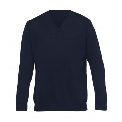 Ecogear Merino Detailed Vee Mens Pullover