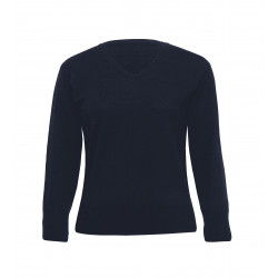 Ecogear Merino Detailed Vee Ladies Pullover