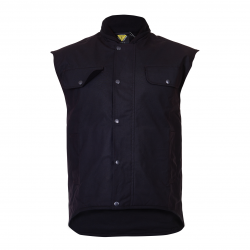 Caution Oilskin Vest