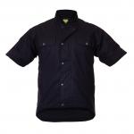 Caution Oilskin Short Sleeve Vest