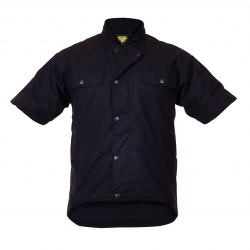 Caution Oilskin Short Sleeve Vest