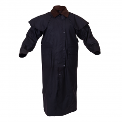 Caution Oilskin Adults Long Riding Coat