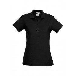 Biz Crew Womens S/S Polo