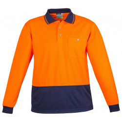 Syzmik Basic Day Only Long Sleeve Polo