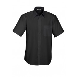 Biz Base Mens Short Sleeve Shirt
