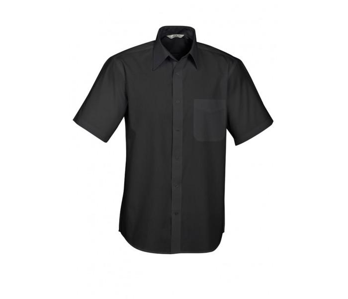 Biz Base Mens Short Sleeve Shirt