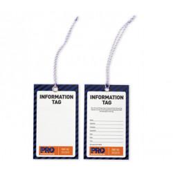 PRO Information Safety Tags 100pk