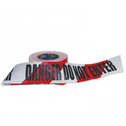 PRO Danger Do Not Enter Barricade Tape-100m