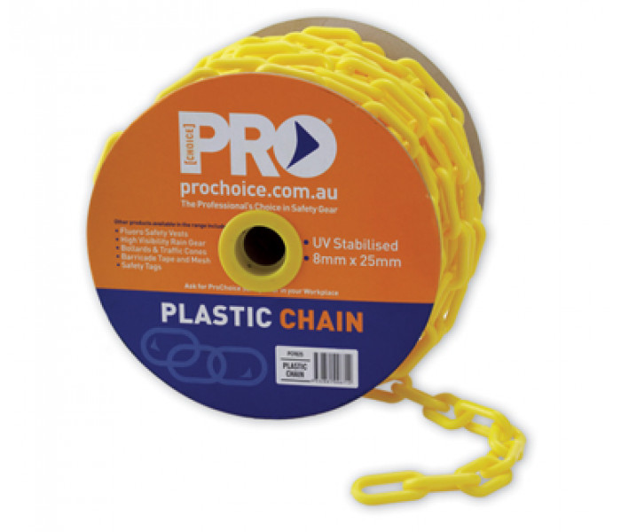 PRO Plastic Safety Chain-25m