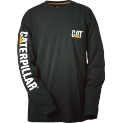 CAT Trademark Banner Long Sleeve T-Shirt