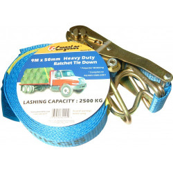 CargoLoc  9mx50mm Heavy Duty Ratchet Tie-Down