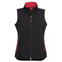 Biz Geneva Womens Soft Shell Vest