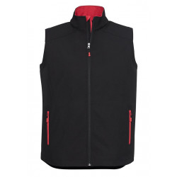 Biz Geneva Mens Soft Shell Vest