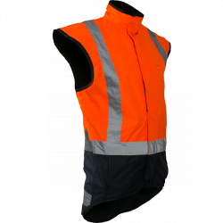 Caution Storm Pro Day/Night Lined Vest
