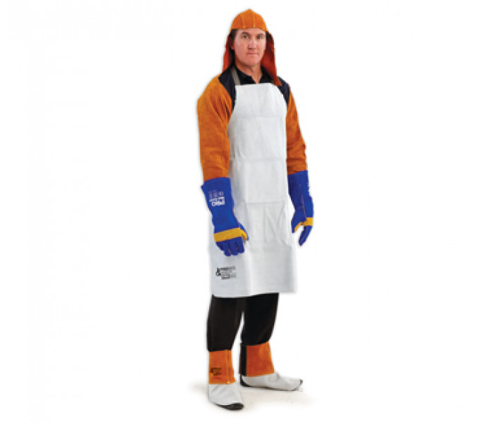 PRO Pyromate 100x80cm Leather Weld Apron