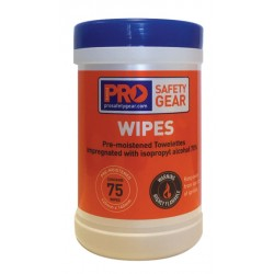 PRO PPE Cleaning Wipes-75pk