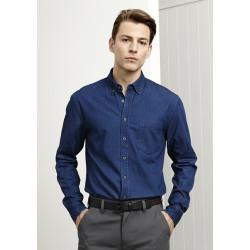 Biz Indie Mens Long Sleeve Shirt