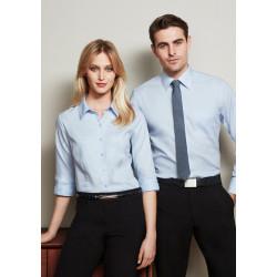 Biz Luxe Mens Long Sleeve Shirt