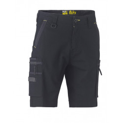 Bisley Flex & Move Utility Zip Stretch Shorts