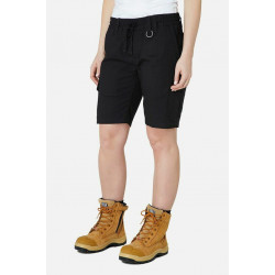 Elwood Elastic Waist Womens Utility Stretch Shorts