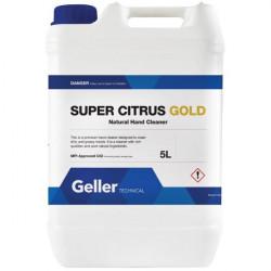 Geller Super Citrus Gold Hand Cleaner-5L