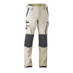 Bisley Flex & Move Utility Zip Stretch Trousers-Regular Leg