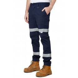 Elwood Slim Leg Stretch Taped Pants